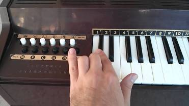 Magnus Hand Organ - note the buttons for chords on the left, I used to love playing with those.