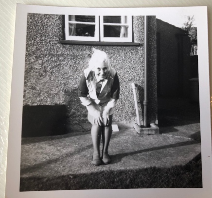 My grandmother - I took this photo aged 7