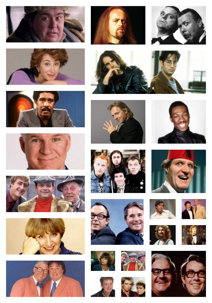 Comedians from 80s and 90s