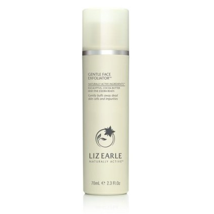 Liz Earle Face Exfoliator white bottle