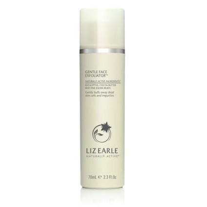 Liz Earle Face Exfoliator white bottle