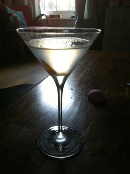 Tootsie Roll Martini